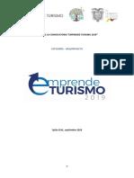 Bases de La Convocatoria Emprende Turismo Categoria Idea