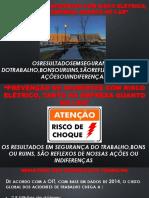 Apresentação Concientização Sobre Riscos Elétricos Rev00