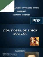 vida y obra de Simon Bolivar.pptx