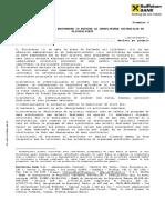 Declaratie Privind Indeplinirea Criteriilor de Eligibilitate