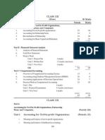 2010 Syllabus 12 Accountancy