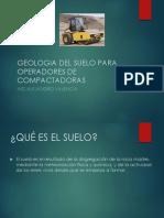Geologia Del Suelo Para Operadores de Maquinaria Pesada