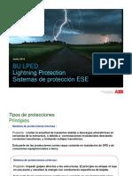 Sistemas de protección contra rayos