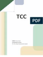 Descrição de formato de TCC da UNOPAR