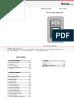 Smart Sensor 4 Gases AS8900 - Manual de Operação (2)