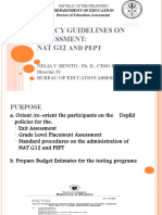 Wdo Ncae Policy Guidelines for Assessment Ppt