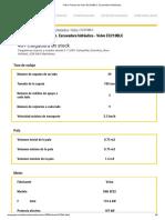 FICHA TECNICA EC210B VOLVO