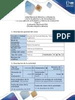 Guía de Actividades y Rúbrica de Evaluación - Fase 5 - Evaluación Nacional POA (Prueba Objetiva Abierta)