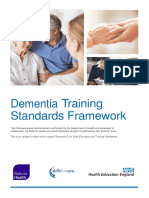 Dementia Core Skills Education and Training Framework