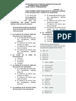 Examen Final 3 Periodo Octavo