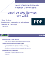 Vision Web Services J2EE