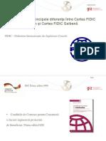 Sesiunea 7_Principale Diferente FIDIC