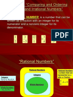 Comparing and Ordering Rational Numbers and Irrational Numbers_foa