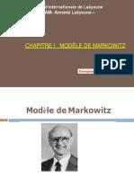 1-Modèle de Markowitz