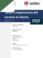 Tarea 3-Importancia Del Servicio Al Cliente-GendriCruz