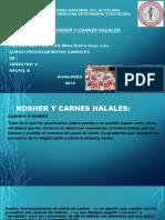Carnes Kosher y Halal