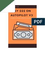 Making Money on Autopilot V3