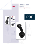 Sauer-Danfoss JS1000 and JS6000 Joysticks CANopen Object Dictionary v2.10
