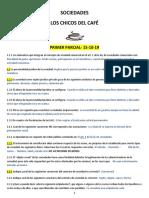 Sociedades Los Chicos Del Cafe 1 Parcial 15-10--1