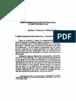 Responsabilidad Precontractual y Postcontractual
