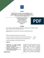Informe Practica #3 AMINOACIDOS
