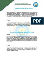1. FILOSOFIA INSTITUCIONAL