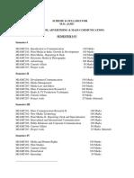 Mjmc Course(Ptu)