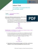 Distribucion de La Media y Proporcion de La Muestra Teorema Limite Central