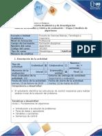 Guia de Actividades y Rubrica de Evaluación - Etapa 2 – Análisis de Algoritmos