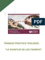 Antropologia Teologia Plenitud de Los Tiempos