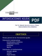 Intoxicaciones Medicamentosas y No Medicamentosas 2011 2012 (1)