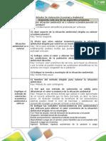 Tabla 2. Matriz de Aplicación de Un Método de Valoración Económica Del Ambiente