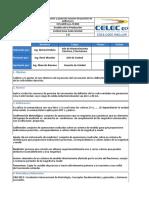 Calibración y Ajuste de Sensores de Posición de DEFLECTORES