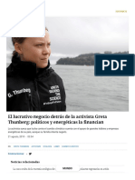 El Lucrativo Negocio Detrás de La Activista Greta Thunberg_ Políticos y Energéticas La Financian