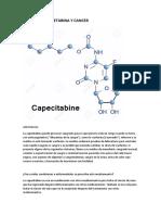 Capecetabina y Cancer
