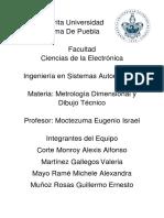 Proyecto de metrología, dimensiones y dibujo..pdf