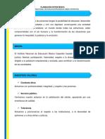 PLANIFICACION ESTRATEGICA INSTITUCIONAL