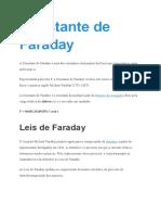 Constante de Faraday