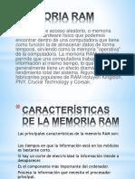 Memoria Ram Presentacion