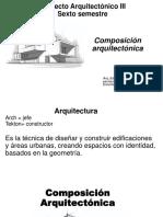 2.-Composición Arquitectónica