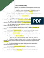 Questionamento Soltos e Avulsos - E1