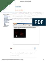 Insertar Un Vídeo _ Elementos Multimedia
