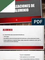 Tratamiento térmico del aluminio y sus aleaciones