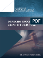 Derecho Procesal Constitucional