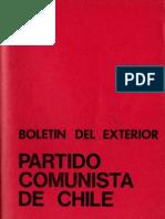 Boletín del Exterior Partido Comunista de Chile Nº44