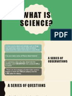 what is science powerpoint