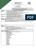 Sample Syllabus 2018.Docx Sample Basic and Major FIX