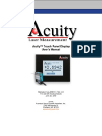 Acuity Users Manual