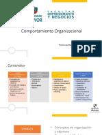 Unidad i Comportamiento Organizacional(1)(1)