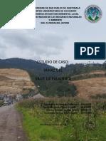 Análisis de Caso Minería en El Valle de Palajunoj